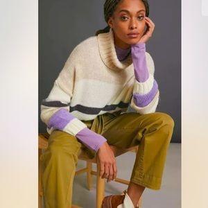 Anthropologie Aldomartins Fia Turtleneck Sweater L